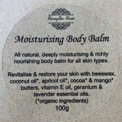 Moisturising Body Balm Flower