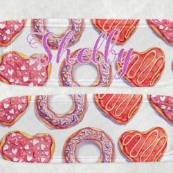 Pink Doughnut Icy Pole Holder, Zooper Dooper, Donut