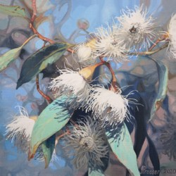 White Gum Flowers Limited Edition Print