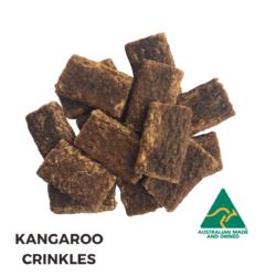 Kangaroo Crinkles Dog Treats