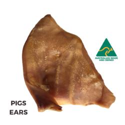 Pig / Pork Ear Dehydrated Dog Treats