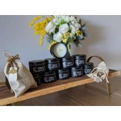 100% Natural White Apricot Massage Candle