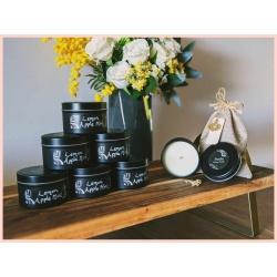 100% Natural Lemon Apple Mint Massage Candle