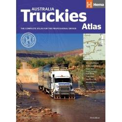 Atlas Hema Maps – Australia Truckies Atlas 7th Edition