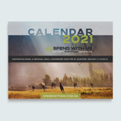 Spend With Us – Buy From a Bush Business Calendar 2021
