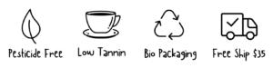 Collombatti Naturals Tea and Chai Trust Icons