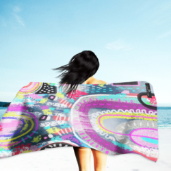 Inkheart Sand Free, quick dry towel (Abstract)