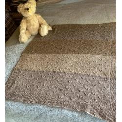 Alpaca Baby Cot Rug