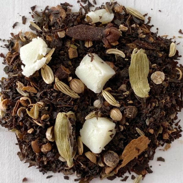 Collombatti naturals White Chocolate Chai Loose Leaf Tea
