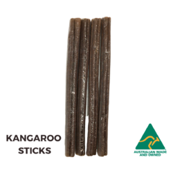 Dehydrated Kangaroo Meat Sticks Dog Treats