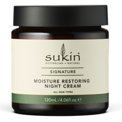 SUKIN MOISTURE RESTORING NIGHT CREAM | SIGNATURE 120ML