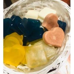 2x Frangipani Love Hearts