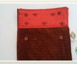 Simple coin/card/ note/ essential oil/ jewelry travel pouch