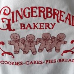 Apron Gingerbread Bakery