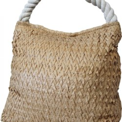 Rice Paper & Rope Natural Doorstop