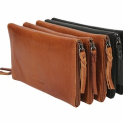 Leather Optical/Phone Case – Tan