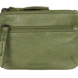 Leather Coin Purse – Apple Green