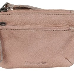 Leather Coin Purse – Blush Pink