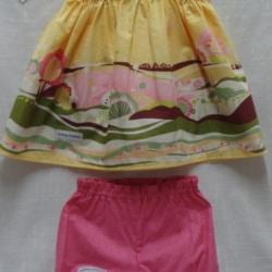 Baby Sun Suit – Top & Pants – 6-9 mths