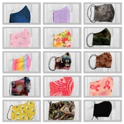 Handmade Face Masks – Adults and Children's.