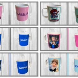 Personalised Poly-Sub Plastic Mugs