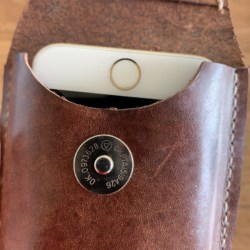 Leather Belt Pouch for smart phone/androids