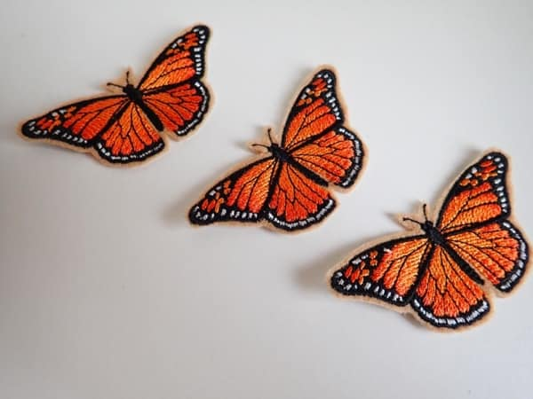 Viceroy Butterfly iron on patch