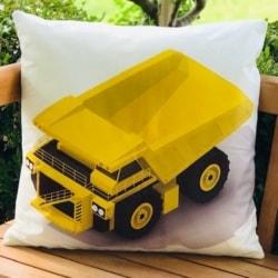Cushion. Dump truck