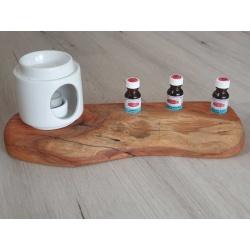 Oil burner and essential oil display