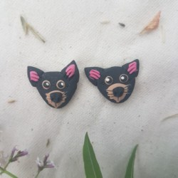 Tasmanian Devil Earrings