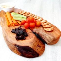 Yellow Cypress Serving/Dinner Platter