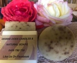 Hand Made Natural Soap – Gardener's soap – Great soap for getting rid of dirt & grime!