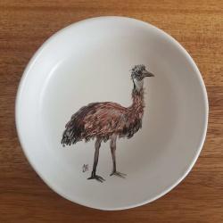Emu Trinket Dish