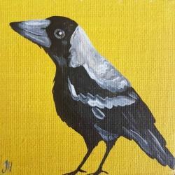 Magpie – Original Painting