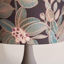 Australian designer fabric, handcrafted lampshade