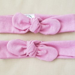 Musk Pink BowKnot Headband – Small ( Newborn to 12 months)