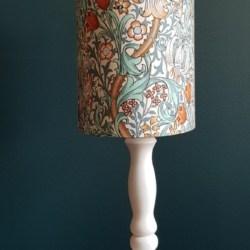 William Morris lampshade – oval