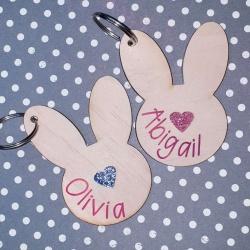 Bunny Bag Tags