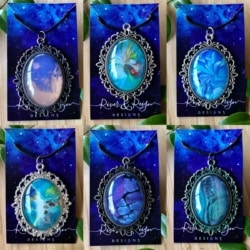 Large Antique Styled Necklaces