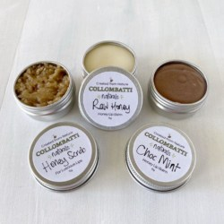 Honey Lip Balms and Scrubs