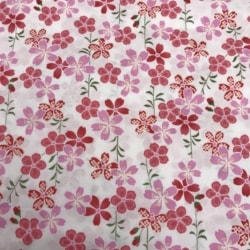 Floral Japanese cotton poplin 3 metres in length