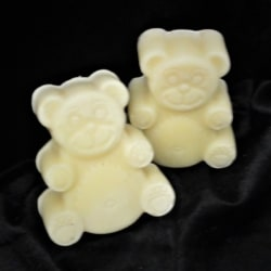 Buttermilk Teddy Bears – Organic, Colour Free & Fragrance Free Handmade Soap