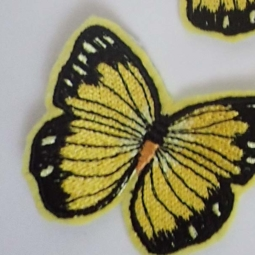 Perimale butterfly iron on patch