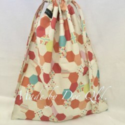 DRAWSTRING BAG | Honeycomb