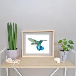 HENRI – Hummingbird Art Print