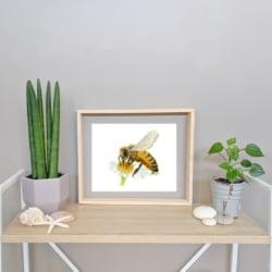 HOLLY – Honey Bee Art Print