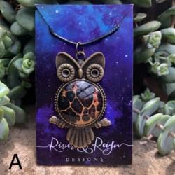 Owl Pendant Necklaces