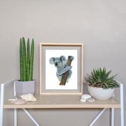 KENNY – Koala Art Print