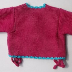 Baby Knitted Kimino Jacket – 0-3 months