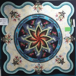 Paradise In Bloom, Queen Size Handmade Quilt